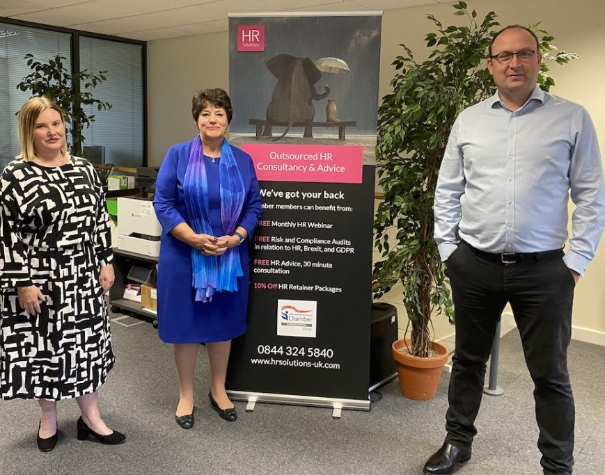 Crispin Rhodes and HR Solutions Announce Partnership
