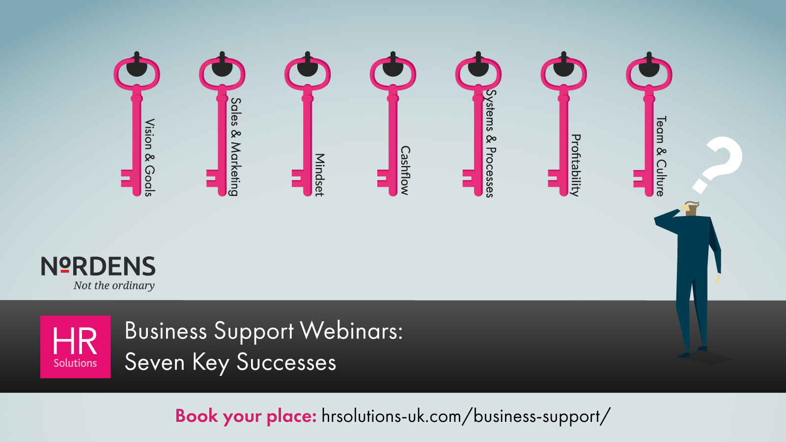 Seven key successes for business growth – webinar series